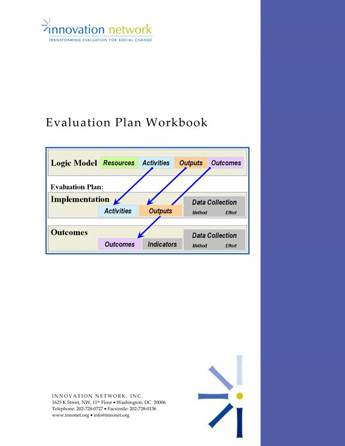 Evaluation Plan Workbook  Innovation Network